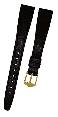 Orig. FORTIS Swiss Made Uhrenarmband LEDER schwarz 14mm NEU 9124