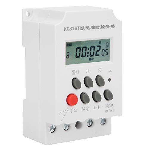 Varios interruptores de temporizador de microcomputador, interruptor de temporizador con material de calidad plástico 30A 250VAC