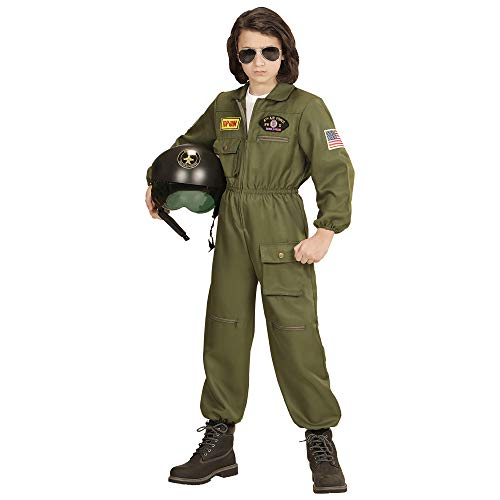 WIDMANN?Costume per bambini pilota di jet militare