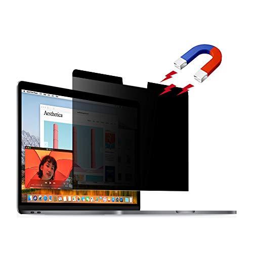 Kompatibel mit MacBook Pro 16 Zoll Sichtschutz, Magnetische Blickschutz, Laptop Bildschirmfilter PET-Schutzfolie kratzfest Displayfilter für MacBook Pro 16 Zoll (40,6 cm)