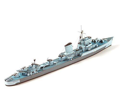 1yess Papel Militar Rompecabezas Juegos de construcción, 1/400 Destructor Polaco Blitz Destructor...