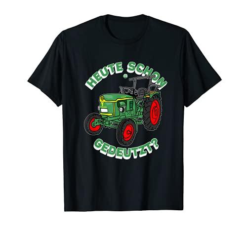 Traktor Shirt für Trecker Liebhaber, Landwirte, Bauern,