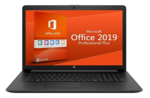 Notebook Pavilion 17-by - 8GB DDR4-RAM - 500GB SSD - Windows 10 Pro + MS Office 2019 Pro - CD/DVD Brenner - 44cm (17.3