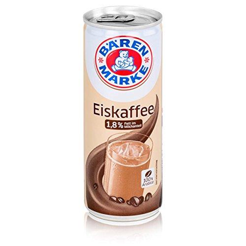 Bärenmarke Eiskaffee 0,25 Liter Dose - 1,8% Fett im Milchanteil - 100% Arabica (1er Pack)