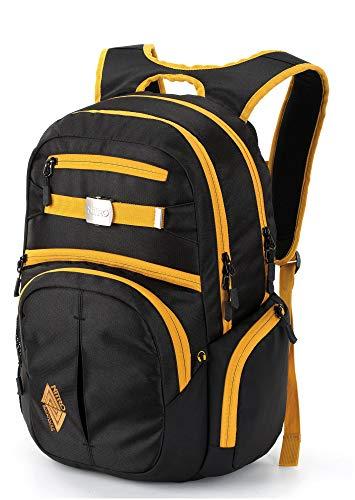 Nitro Hero Pack'15 Sac à Dos Mixte, Noir doré, 52x38x23cm / 37 Liter