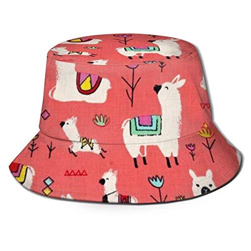 XCNGG Niños Niñas Gorra de Pescador Sombrero de Cubo Plega