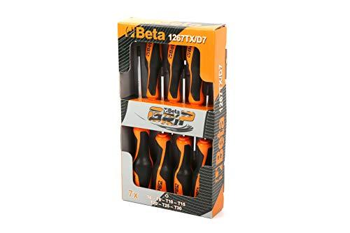 Beta 1267 TX / D7 Grip 7 piezas Juego de destornilladores - 012 670 307