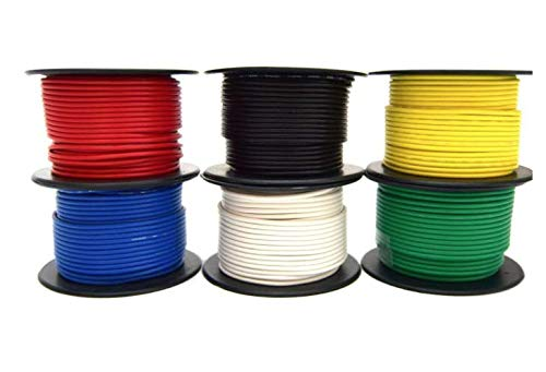 14 Gauge Wire Combo 6 Pack 12V 100