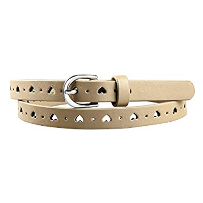 Kids Girl's PU Faux Leather Waistband 4 Colors Pin Buckle Belt
