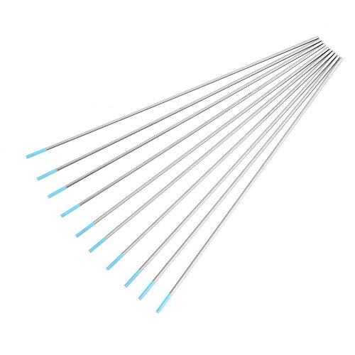 Electrodo de tungsteno WL20 Tig Rod profesional 2.0% Lanthanated para la soldadora, 10Pcs / caja(2.4mm*175mm)