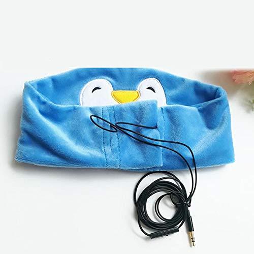 Preisvergleich Produktbild Schlafkopfhörer Ultradünne Lautsprecher Schlafmaske Bequemste Kopfhörer Zum Schlafen - Perfekt Für Sport Flugreisen, Bluepenguin