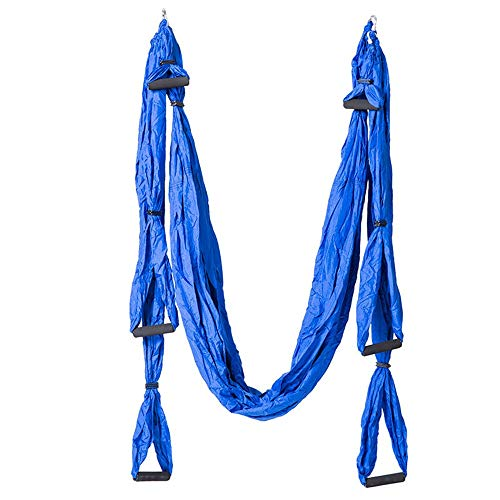Buy Limaomao Aerial Yoga Swing Aerial Yoga Hammock Swing Indoor Flying Outdoor Parachute Cloth Hammo...