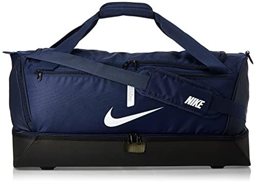 Nike Academy Team, Calcio Duffel Bag Unisex Adulto, Midnight Navy/Nero/Bianco, MISC