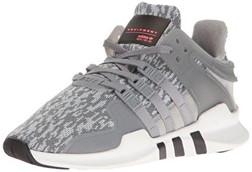 adidas Originals Boys' EQT Support ADV J Running Shoe, Tech Grey/White, 3.5 M US Big Kid