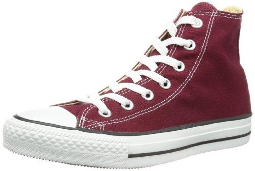 Converse Chuck Taylor all Star Hi, Scarpe da Ginnastica Basse Unisex-Adulto, Rosso (Maroon 607), 51.5 EU