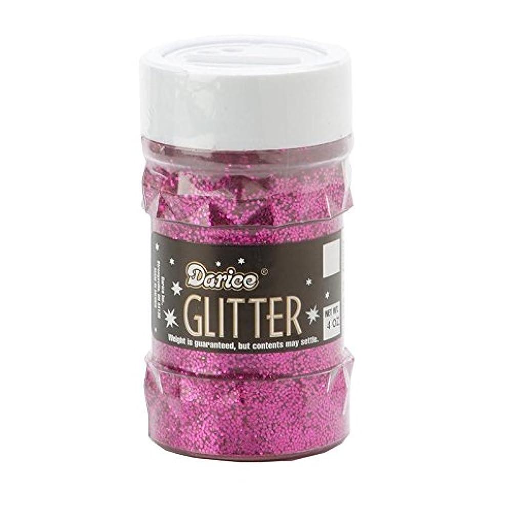 Darice 1146-53 Big Value Glitter, 4-Ounce, Fuchsia