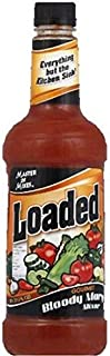 Master of Mixes Loaded Bloody Mary Cocktail Mix, 59.2 Fluid Ounce - 6 per case.