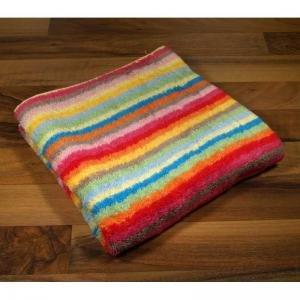 Cawö Handtücher Lifestyle Streifen Multicolor 25 Waschhandschuh 16x22 cm