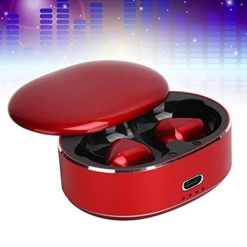 Surebuy Auriculares, audífonos Nivel de Alta fidelidad Calidad de Sonido Bluetooth 5.0 Chip de Alto Rendimiento para Sistemas operativos Windows/Android/iOS(Red, Pisa Leaning Tower Type)