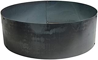 Steel Campfire Ring Fire Pit Liner 60
