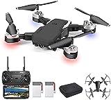 OBEST Drone con TelecameraHD 1080P, WiFi FPV Live Video con telecomando mobile 2.4Ghz, 3D VR,...