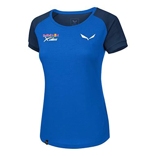 Salewa Redbull X-Alps Delt T-Shirt pour Dame. FR:38 Royal blue/8670