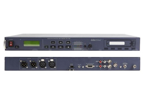 Datavideo DN-700 | HD/SD-SDI Video Recorder File-Based Video Recording Stores to Removable HDD/SSD in AVI / M2T