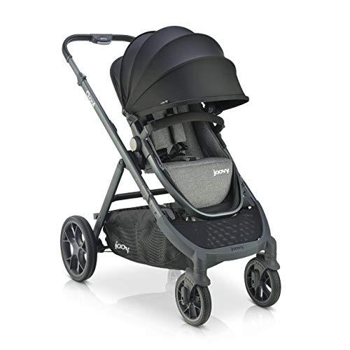 Joovy Qool Stroller, Travel System, Premium Stroller, Grey Melange