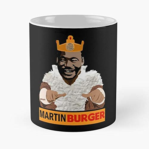 VinTageE Burger King Martin Luther Best 11 oz Kaffeebecher - Nespresso Tassen Kaffee Motive