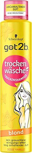 got2b Trockenshampoo Süsse Vanille Blond 200ml Trocken Wäsche Für Blondes Haar