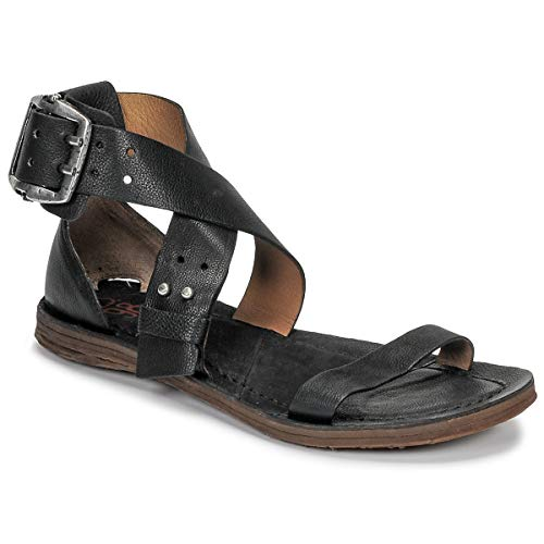 airstep / a.s.98 Ramos Croise Sandalen/Sandaletten Damen Schwarz - 39 - Sandalen/Sandaletten Shoes