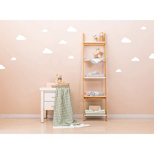 Wolken Set muurtattoo stickers witte wolk decor stickers voor kinderkamer babykamer zelfklevend hemel wolkje wit