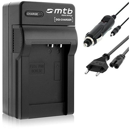 Cargador DMW-BCM13 para Panasonic Lumix DMC-FT5, TZ40, TZ41, TS5, ZS30