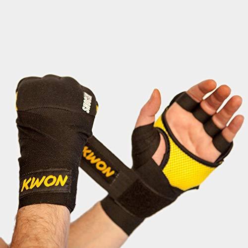 Kwon Fusion Gel Wrap, Farbe:Schwarz / Gelb