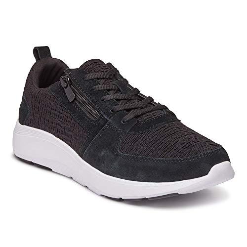 Vionic Damen Remi Casual Sneaker, Schwarz - Schwarz - Größe: 38.5 EU