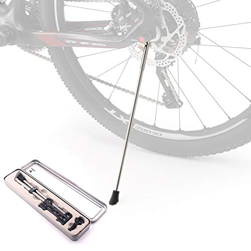Corki Stainless Steel Adjustable Kickstand Quick Release Stand for Mountain Bike