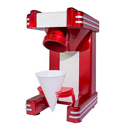 Haushaltselektro Ice Crusher Shaver Schnee-Kegel Eis-Block, der Maschine Eisbrei Sand Maker Ice Tea Shop 220V EU, Breite Anwendung (Voltage (V) : 220V)
