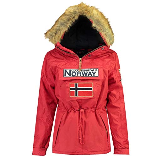 Geographical Norway Parka Mujer BOOMERA Ass A Rojo 01