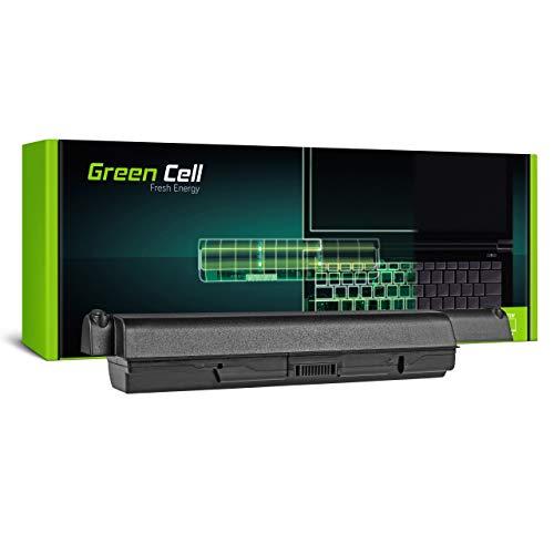 Green Cell Batería para Toshiba Satellite L505-111 L505-112 L505-119 L505-124 L505-12W L505-138 L505-139 L505-13D L505-13E L505-13N L505-14D L505-14K Portátil (8800mAh 10.8V Negro)