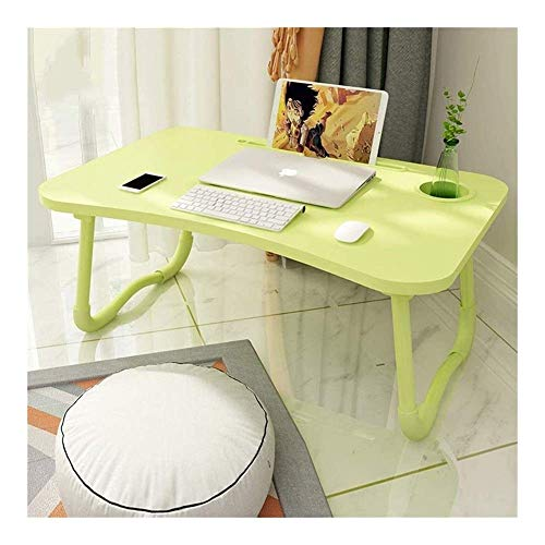 N/Z Equipo Diario Escritorio Ajustable para computadora portátil Nueva computadora Plegable Plegable Lazy College Student Dormitory Simple Children Study Desktop Notebook Stand Sofa C (Color: Blue)