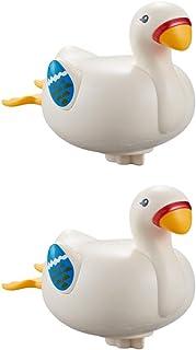 TOYANDONA 2pcs Baby Bath Toys Bathtub Duck for Boys Girls Toddlers Floating Bath Toys Bathtub Pool Toys Bath Swimming Toys...