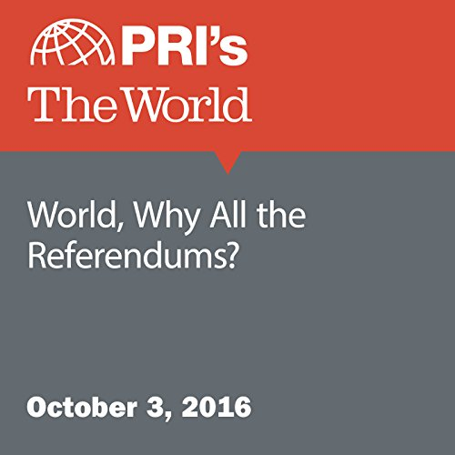 World, Why All the Referendums? audiobook cover art