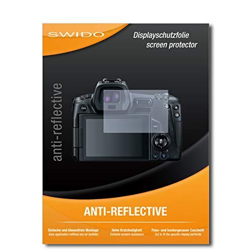 SWIDO Displayschutz für Canon EOS R [4 Stück] Anti-Reflex MATT Entspiegelnd, Hoher Härtegrad, Schutz vor Kratzer/Glasfolie, Schutzfolie, Displayschutzfolie, Panzerglas Folie