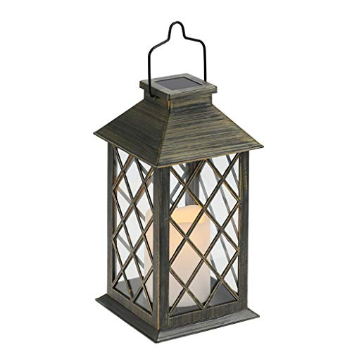 Home Solar Light Charging Candle Plastic LED Candle Wind Light,with Auto On/Off Dusk to Dawn,for Garden Decoration