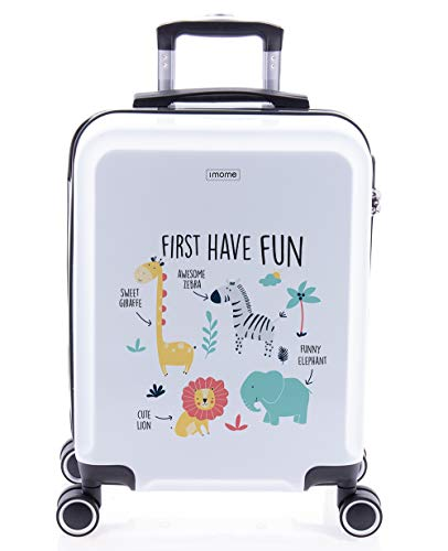imome Cool Maleta de Cabina Infantil First Have Fun 55x40x20 cm |...