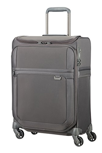 Samsonite Uplite - Spinner 55/20 Smart Top Equipaje de mano, 55 cm, 41 liters, Gris (Grey)