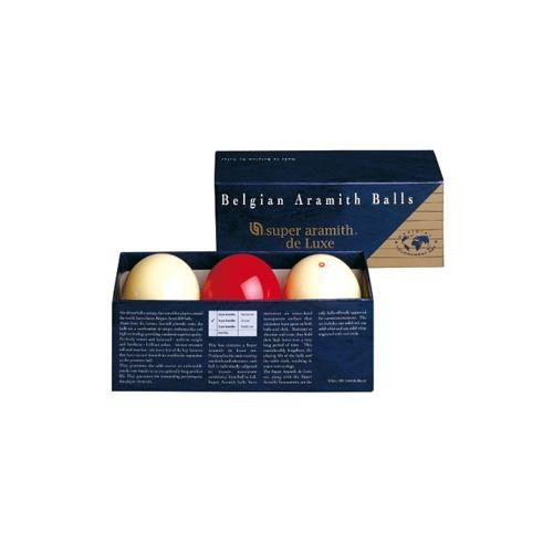 Aramith - Billes Super Aramith de Luxe Carambole 61,5 mm