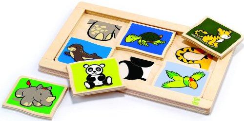 Hape International opha Nécessite Un Diagnostic précoce Ecoline 702768 Puzzle en Bois