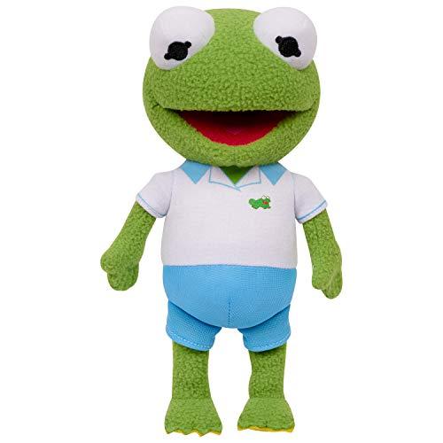 Muppet Babies Bean Plush - Kermit, 8 inches, Green, Model:14011