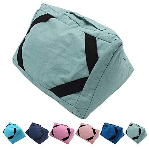 Finelyty Soporte de Cojín para iPad, Multi Angle Soft Pillow Lap, Soporte de Libros para Smartphones, Cojín de Tablet